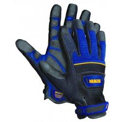 IRWIN Industrial Tool - 432002 - Extra Large Blue/Black Heavy Duty Jobsite Glove