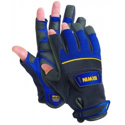 IRWIN Industrial Tool - 432003 - Large Blue/Black Carpenter Gloves