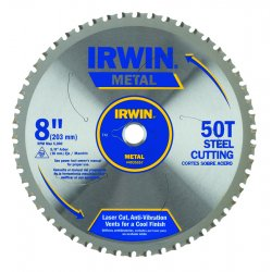"IRWIN Industrial Tool - 4935557 - 8"" x 50T Master Combination, Ferrous Steel, 5/8"" Arbor - Carded"