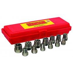 """IRWIN Industrial Tool - 54113 - 13 Piece Bolt Extractorset 1/4-3/4"""" W/3/8"""" Drv"""