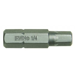 IRWIN Industrial Tool - 92495 - 1/4in Socket Head Insertbit Shank Diameter 5/16
