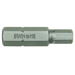 IRWIN Industrial Tool - 92515 - 6mm Socket Head Insert Bit X 1- 1/4