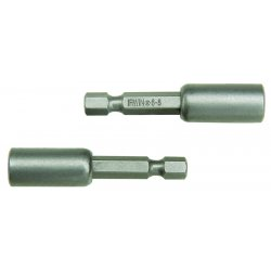 IRWIN Industrial Tool - 93188 - 6-8 Slotted Power Bit with Finder x 3- 3/4, EA