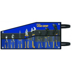 IRWIN Industrial Tool - 2078712 - Vise-Grip 8-pc GrooveLock Pliers Set