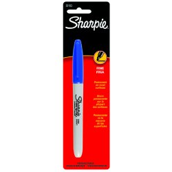 Sharpie - 30103PP - Sharpie Blue Fine Tip Marker
