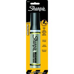 Sharpie - 44101PP - Permanent Marker, Oversized Chisel, Black