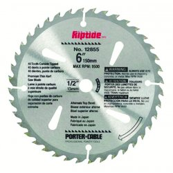 Porter Cable - 12855 - Circular Saw Blades (Each)