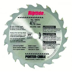 Porter Cable - 12870 - Saw Blade 20t
