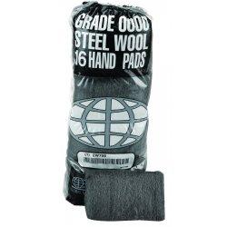 Global Material Technology - 117000 - #0000 Steel Wool 16pa Sleeve