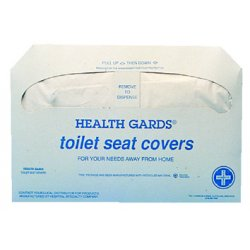 Hospeco - HG-5000 - (pack/250) Toilet Seat Covers