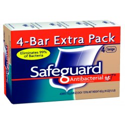 Procter & Gamble - 08833 - (pack/4) Safeguard Bathbar 4 Oz
