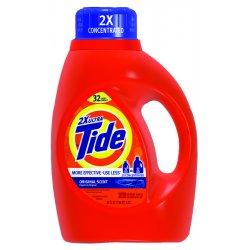 Procter & Gamble - 13878 - Tide Liquid Detergent - Liquid Solution - 0.39 gal (50 fl oz) - 1 / Bottle - Orange