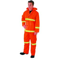 River City - 2013RM - Medium Luminator Pvc Polyester 3 Piece Rainsuit
