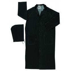 River City - 267CM - Classic Plus .35mm Pvc/poly Ridercoat Collar Blk