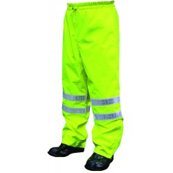 "River City - 598RPWXL - Cls 3 Brthable Poly/polyureth Pants 2"" Wh Vinyl"