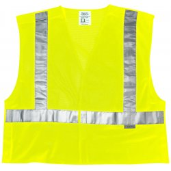 River City - CL2MLPFRM - Fire Resistant Cls Ii Fluorescent Lime Poly Msh