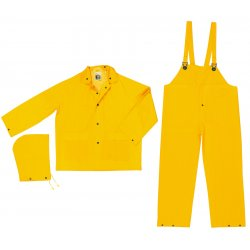 River City - FR2003L - Classic .35mm Pvc/poly Flame Resist Suit 3 Pc Yw