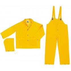 River City - FR2003XL - Classic .35mm Pvc/poly Flame Resist Suit 3 Pc Yw