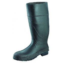 "Servus / Honeywell - 18822/11 - 16""H Men's Knee Boots, Plain Toe Type, PVC Upper Material, Black, Size 11"