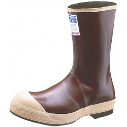 "Servus / Honeywell - 22114/8 - 12""H Men's Mid-Calf Boots, Steel Toe Type, Neoprene Upper Material, Tan, Size 8"