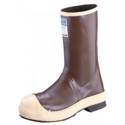"Servus / Honeywell - 22148/9 - 12""H Men's Mid-Calf Boots, Steel Toe Type, Neoprene Latex Upper Material, Brown, Size 9"