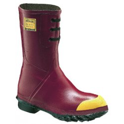 "Servus / Honeywell - 6145-11 - 12"" Red Insulated Pac Boots W/steel Toe"