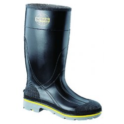 "Servus / Honeywell - 75109/10 - 15""H Men's Knee Boots, Steel Toe Type, PVC Upper Material, Black, Size 10"