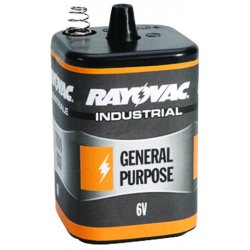 Rayovac - 6V-GP - General purpose Lantern Battery, Voltage 6.0, Spring Terminal Type