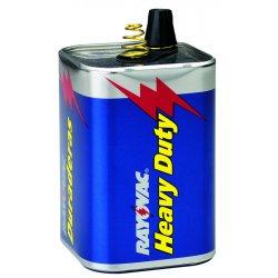 Rayovac - 944R - Ray-O-Vac 6 Volt Heavy-Duty Industrial Lantern Battery With Spring Terminal (12 Per Case)