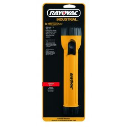 Rayovac - IN3C - 3D Yellow Industrial Flashlight with Ring Hanger