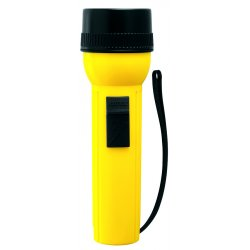 Rayovac - IV2DC - General Purpose Incandescent Handheld Flashlight, Plastic, Maximum Lumens Output: 23, Yellow