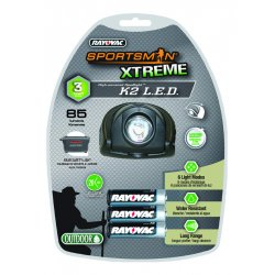 Rayovac - SE3AAHDLT-BXA - Rayoac Sportsman Xtreme6 Light Modes Led Headli