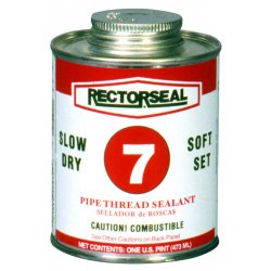 Rectorseal - 17432 - No. 7 1pt Btc Pipe Thread Sealant Black