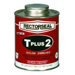 Rectorseal - 23551 - 8 oz. Can Pipe Thread Sealant with 2, 000 psi, White