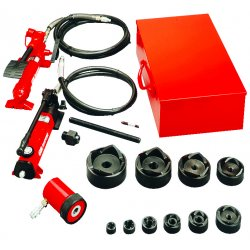 "Gardner Bender - KOF520 - Hydraulic Knockout Set 1/2-2"" W/foot Pump"