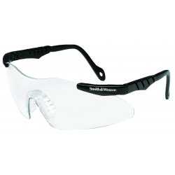 Smith & Wesson - 19822 - Smith & Wesson SW152PCCMINII Safety Glasses, Clear Lens