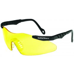 Smith & Wesson - 19828 - MAGNUM 3G Scratch-Resistant Safety Glasses, Yellow Lens Color