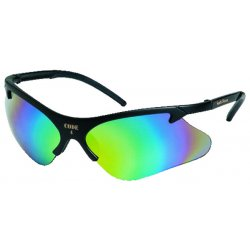 Smith & Wesson - 19834 - Code 4 Scratch-Resistant Safety Glasses, Clear Mirror Lens Color