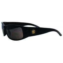 Smith & Wesson - 624-21303 - Elite Safety Eyewear, Black Frame, Smoke Anti-Fog Lens