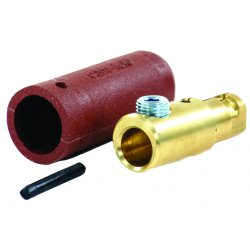 Cooper Interconnect - E1012-64K - M Plug Blk #1/0-3/0 1set