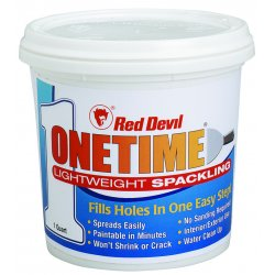 "Red Devil - 0544 - 1-quart Tub ""onetime"" Spackling Super Light"