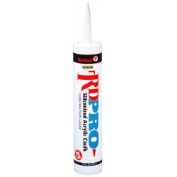 Red Devil - 0876/OI - 10.1 Fl. Oz. Clear Silicon Acrylic Ind.