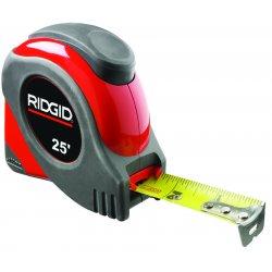 """RIDGID - 20218 - Locking Steel Tape 11/16"""" X 25'bl Width 1 1/16"""""""