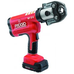 RIDGID - 31028 - Pressing Tool, 18V, 1/2 To 1-1/4 In Pipe