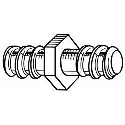 RIDGID - 31487 - 5/8 In Cable Repair Coupling