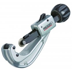 "RIDGID - 31637 - 6-3/4""L Manual Quick Acting Tubing Cutter, Cuts Copper, Aluminum, Brass, Plastic, CPVC, PEX, PE, PB"