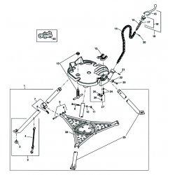 RIDGID - 41020 - Vise Jaw, 2-1/2 InW x 3-1/4 InL
