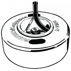 RIDGID - 43637 - K750 Drum Asm W/5/8 Pigt