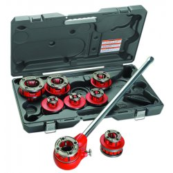 "RIDGID - 55207 - Ridgid 1/2"" - 2"" 12-R Exposed Ratchet Threader Set With Carrying Case"