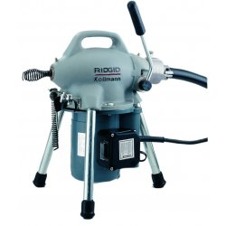 RIDGID - 58960 - Drain Cleaning Machine, 400 rpm, 100 ft.